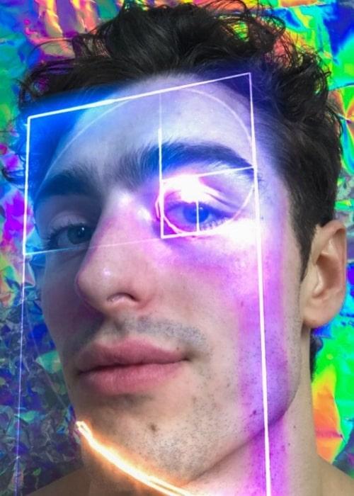 Andrés Sanjuan as seen in a selfie taken in Berlin, Germany in December 2019