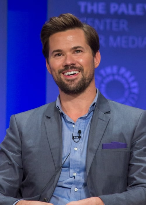 Andrew Rannells as at the PaleyFest 2015 panel for the Girls cast March 8
