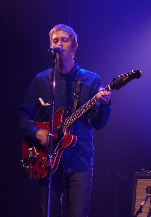 Andy Bell as seen while performing with 'Beady Eye' in 2011