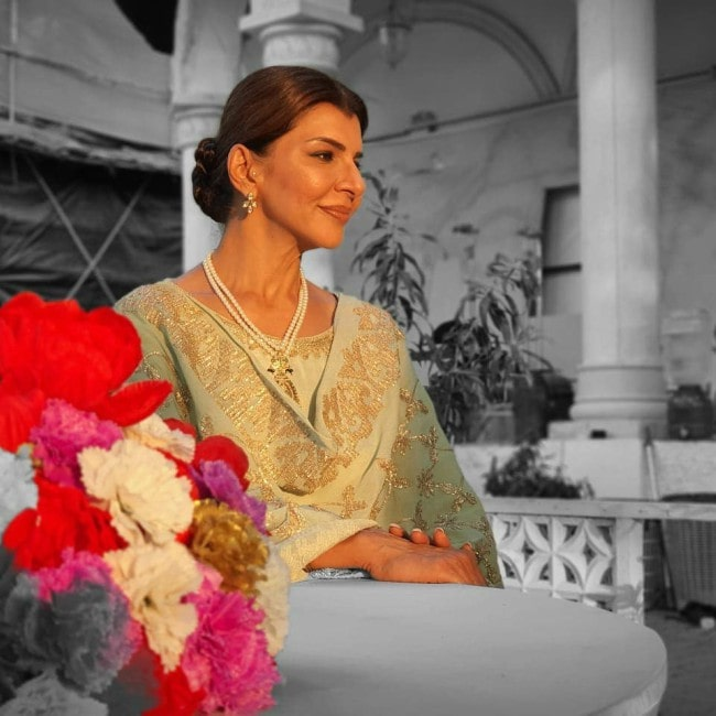 Anita Raj as seen in March 2020