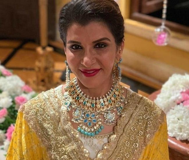 Anita Raj in an Instagram post as seen in August 2019