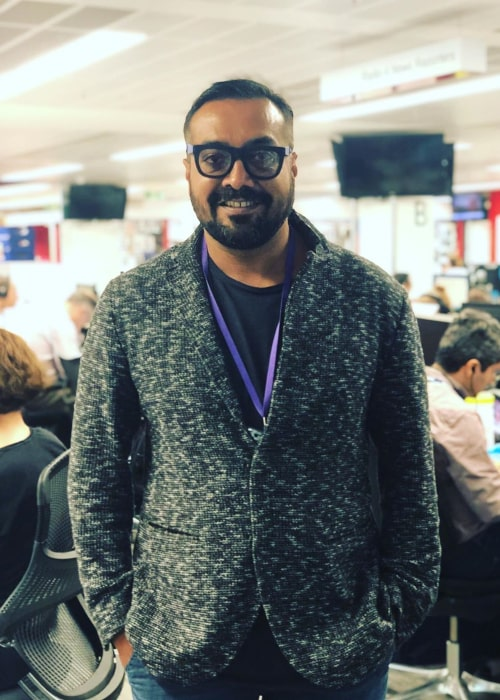 Anurag Kashyap as seen in an Instagram Post in June 2019
