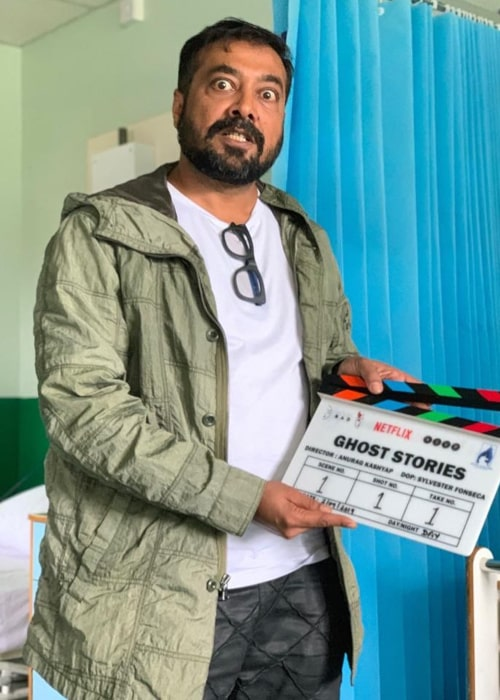 Anurag Kashyap as seen in an Instagram Post in September 2019