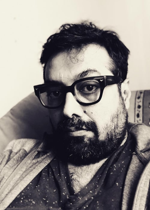 Anurag Kashyap in an Instagram selfie from April 2018
