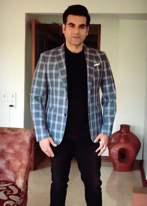 Arbaaz Khan as seen in an Instagram Post in April 2019