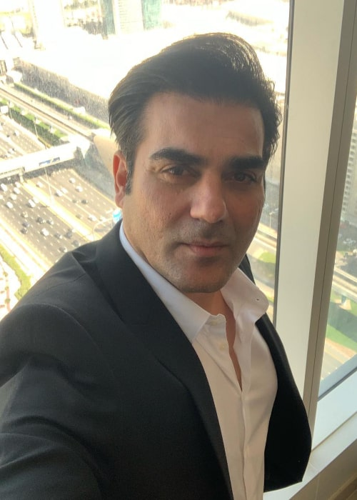 Arbaaz Khan in an Instagram selfie from December 2018