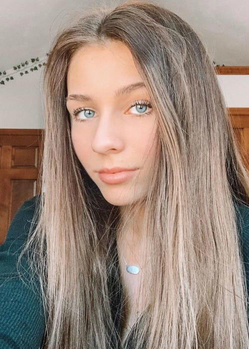 Bailey Dedrick in an Instagram selfie as seen in February 2020