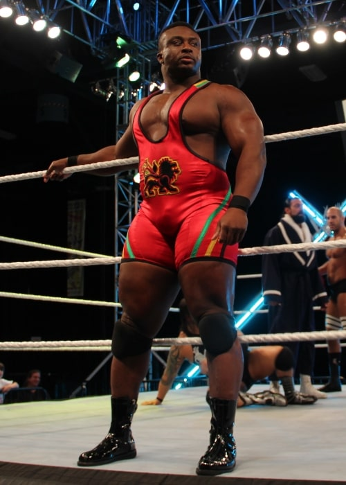 Big E. Langston as seen in a picture taken prior to a match at Wrestlemania Axxess in April 2, 2012