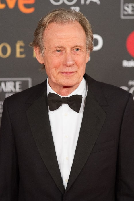 Bill Nighy at the 32nd Goya Awards in 2018