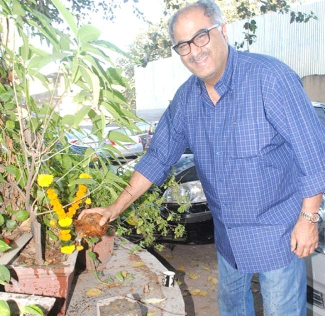 Boney Kapoor as seen in April 2012