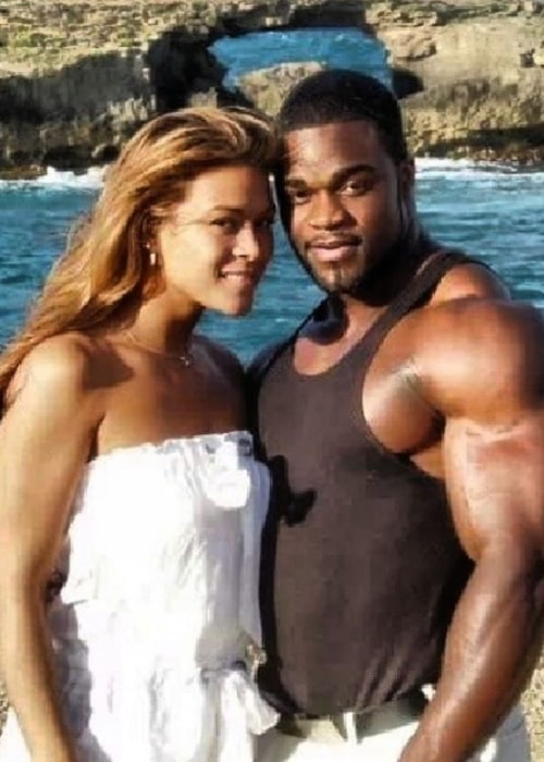 Brandon Curry as seen in a picture taken with his wife Brandy Leaver in the past