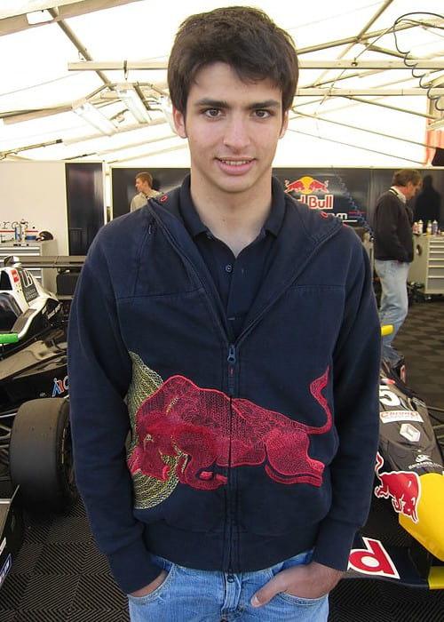 Carlos Sainz Jr. as seen in April 2011