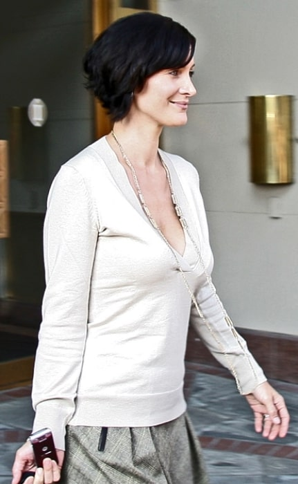 Carrie-Anne Moss at the 2007 Toronto International Film Festival
