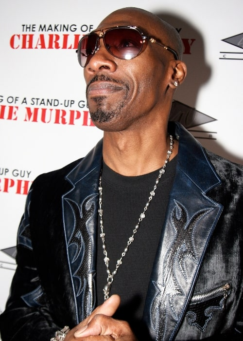 Charlie Murphy as seen in a picture taken at an event to promote his book The Making of a Stand Up Guy in December 2009