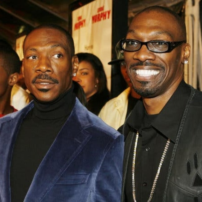Charlie Murphy as seen in a picture taken with his brother Eddie Murphy in the past