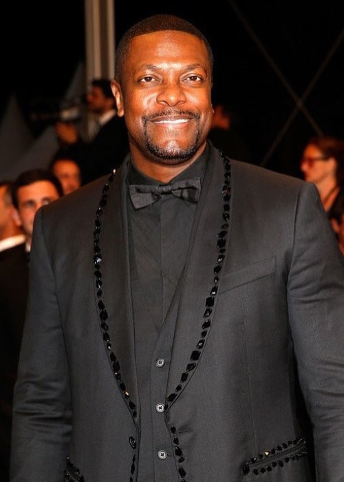 Chris Tucker at the Cannes film festival in May 2016
