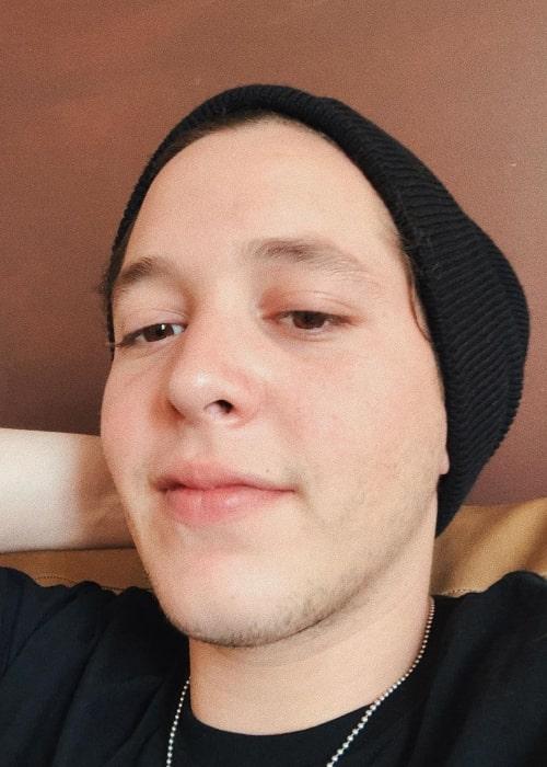 Chucho Rivas as seen in a selfie taken in March 2020