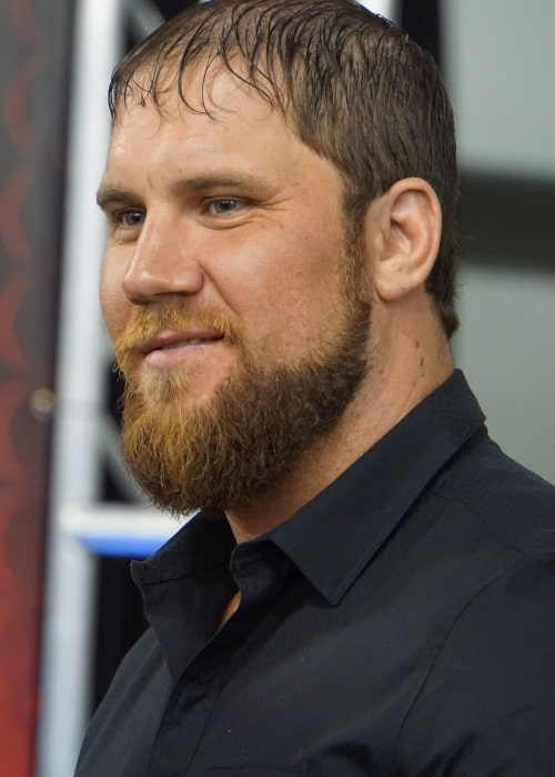 Curtis Axel at WWE's WrestleMania 31 Axxess on March 28, 2015