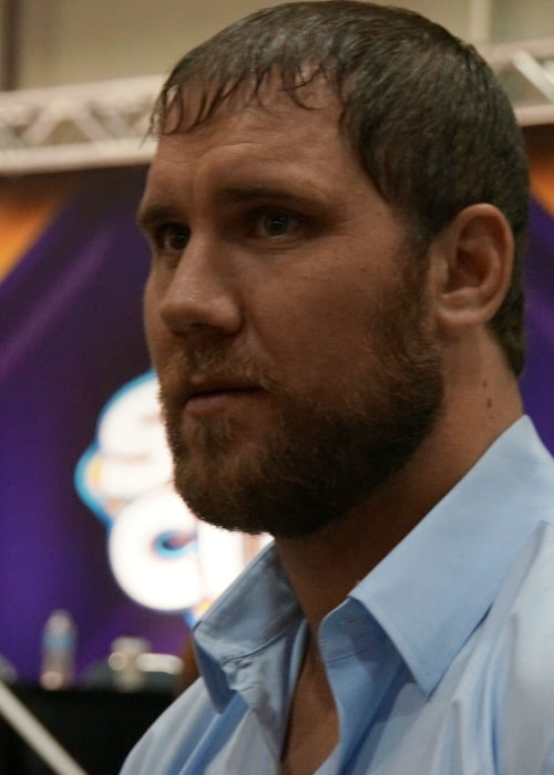 Curtis Axel at WWE's WrestleMania Axxess on April 3, 2014