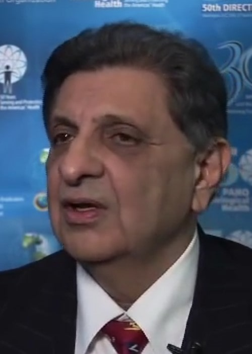 Cyrus S. Poonawalla during an interview as seen in September 2010