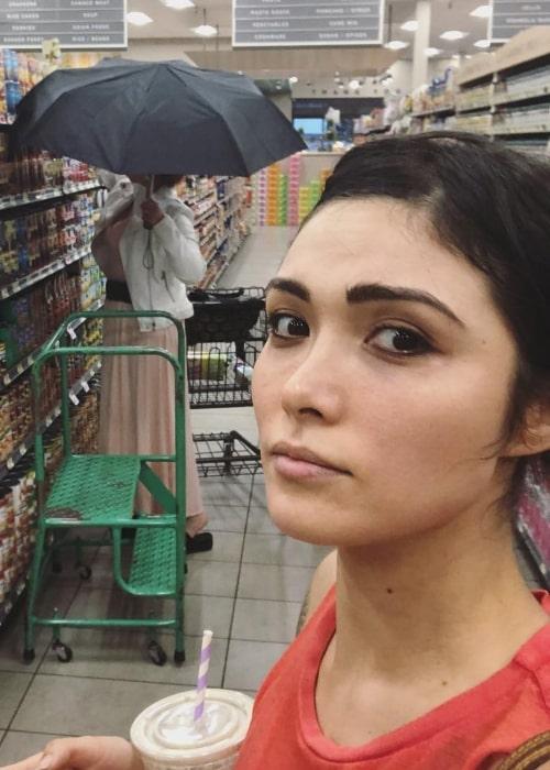 Daniella Pineda as seen in October 2018
