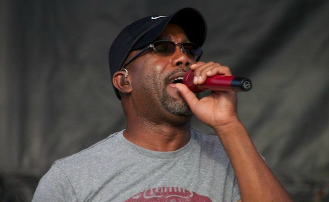 Darius Rucker during a performance at Countryfest in 2013