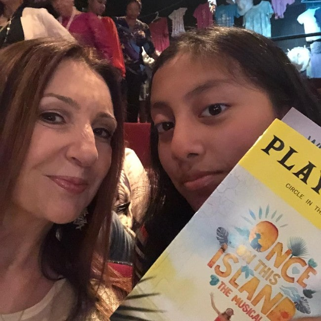 Donna Murphy with her adopted daughter Darmia Hope as seen in October 2018