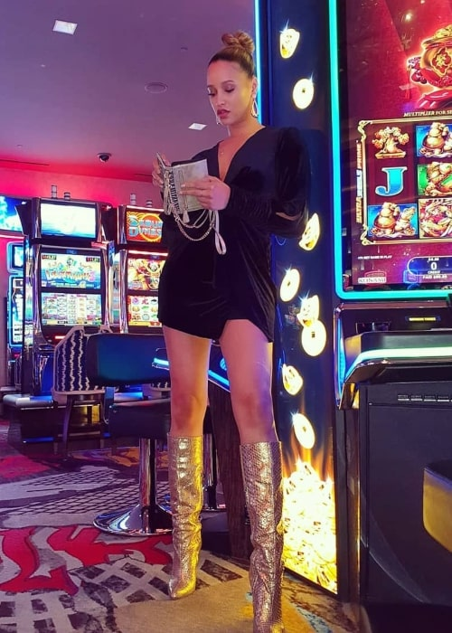 Elarica Johnson as seen in a picture taken in Las Vegas, Nevada in December 2019
