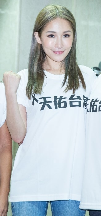 Elva Hsiao as seen at a fundraising event for 2014 Kaohsiung gas explosions