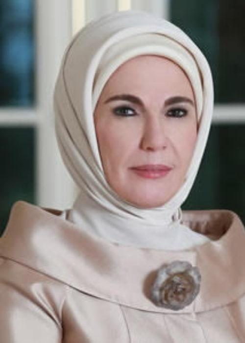 Emine Erdoğan as seen in August 2015