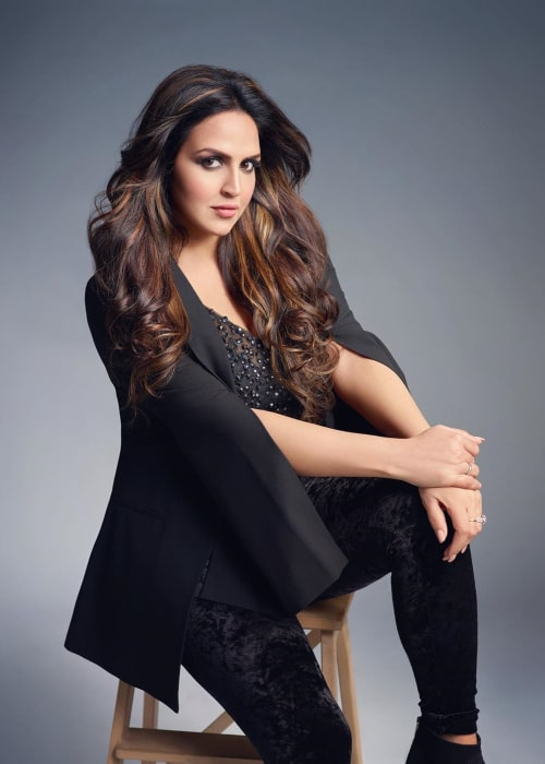 Esha Deol as seen in an Instagram Post in March 2020