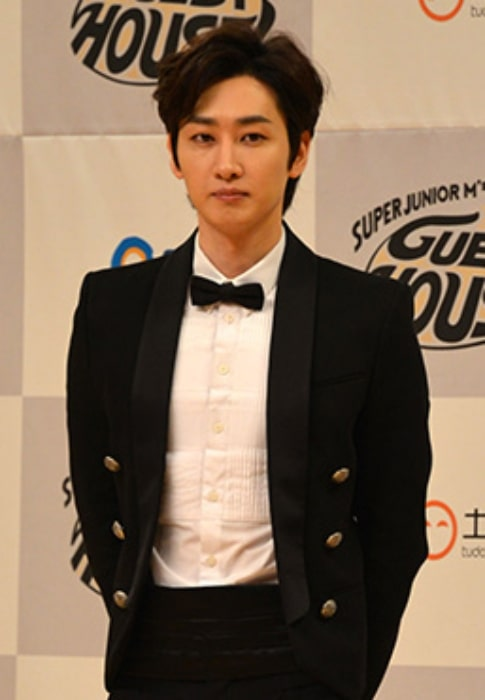 Eunhyuk as seen in a picture taken during an event in July 2014