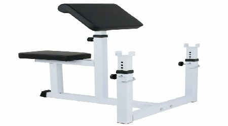F2C Arm Curl Weight Bench Review