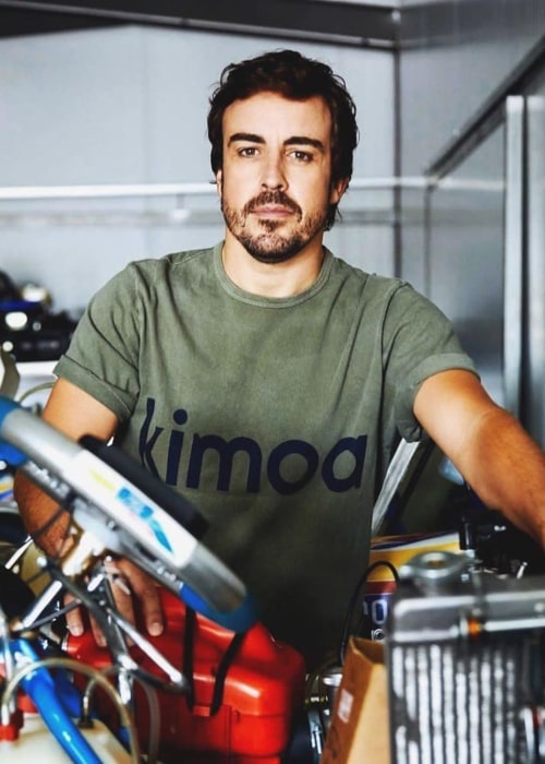 Fernando Alonso as seen in an Instagram Post in October 2019