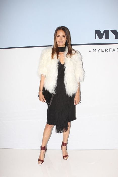 Gail Elliott seen at the fashion launch of the Myer Spring Summer 2015 collection