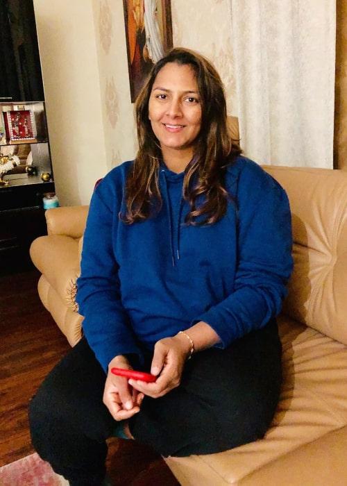 Geeta Phogat as seen in an Instagram Post in December 2019
