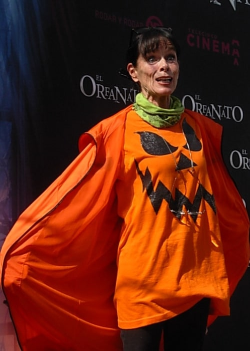 Geraldine Chaplin as seen at the presentation of film 'The Orphanage' in Madrid, Spain in October 2007