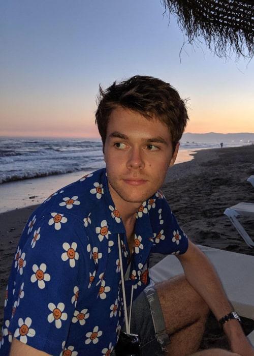 Harrison Webb as seen in an Instagram Post in July 2019