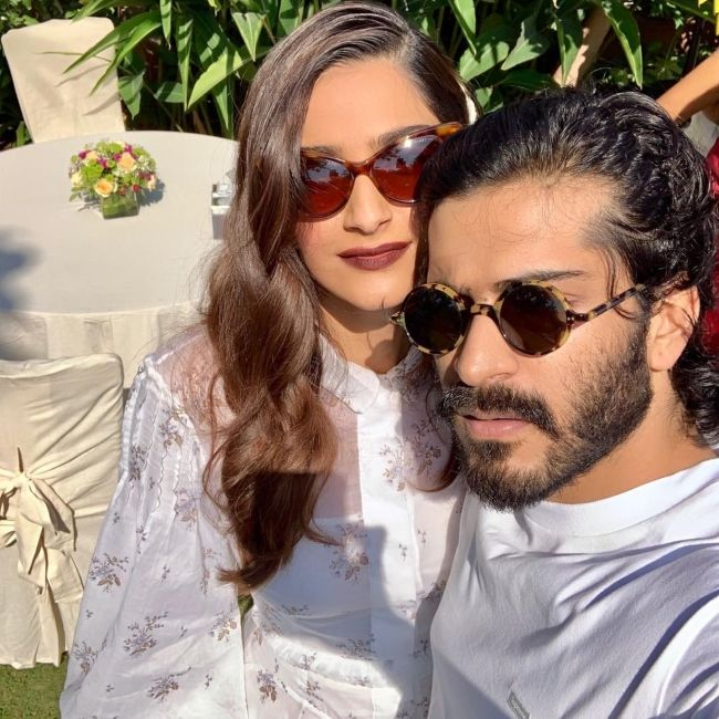 Harshvardhan and his sister Sonam Kapoor seen together in January 2019
