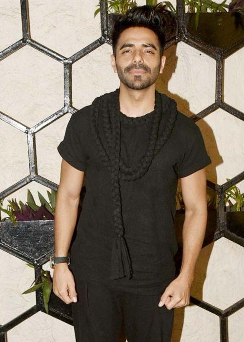 Indian actor and singer Aparshakti Khurana