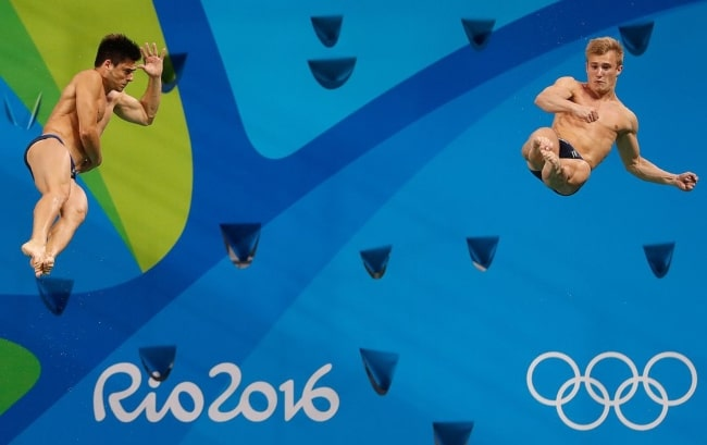Jack Laugher and Chris Mears at the Rio 2016 Olympic Games