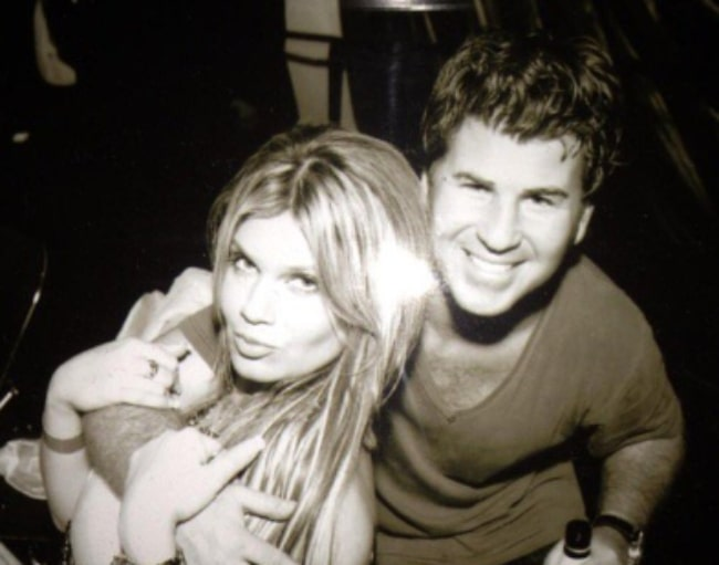 Jason Hervey smiling in a picture along with Shannon Hervey