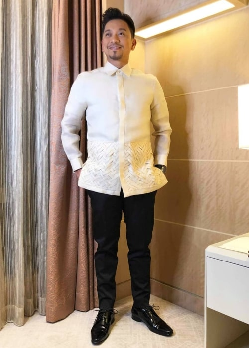 Jhong Hilario as seen in a picture taken at the Shangri-La at the Fort, Manila in September 2019