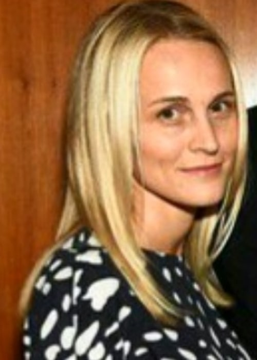Joanne Tucker as seen in a picture taken in the past