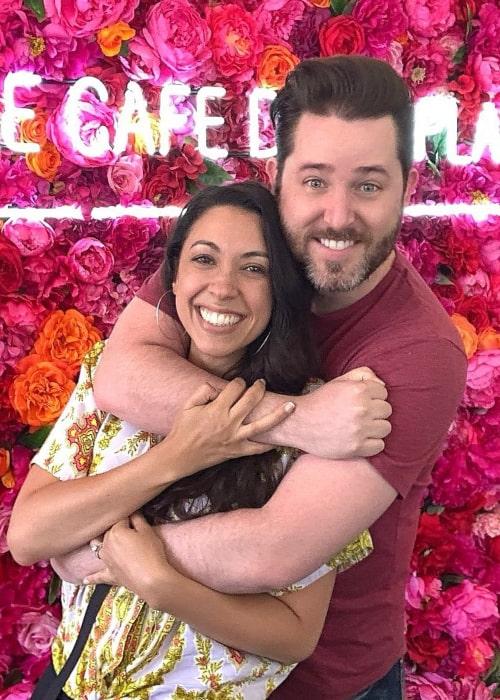 Joshua David Evans and Pamela Rose Rodriguez, as seen in August 2019