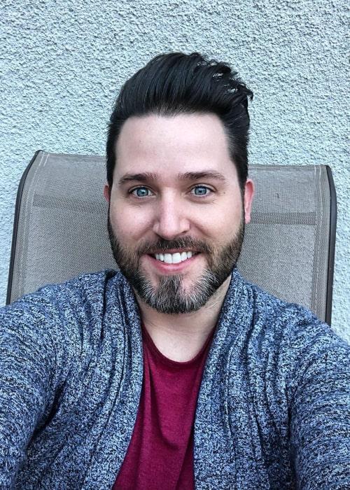 Joshua David Evans as seen in an Instagram selfie in November 2019