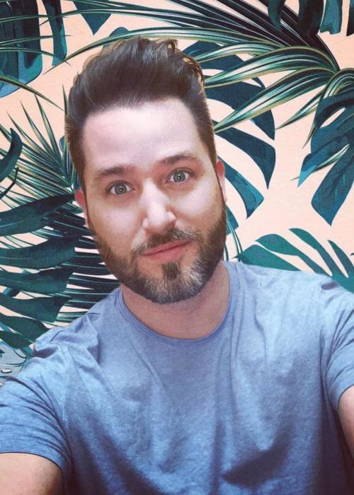 Joshua David Evans as seen in an Instagram selfie in September 2019