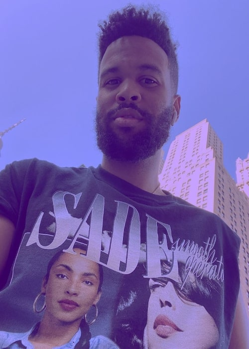 Josiah Bell as seen while taking a selfie in October 2019