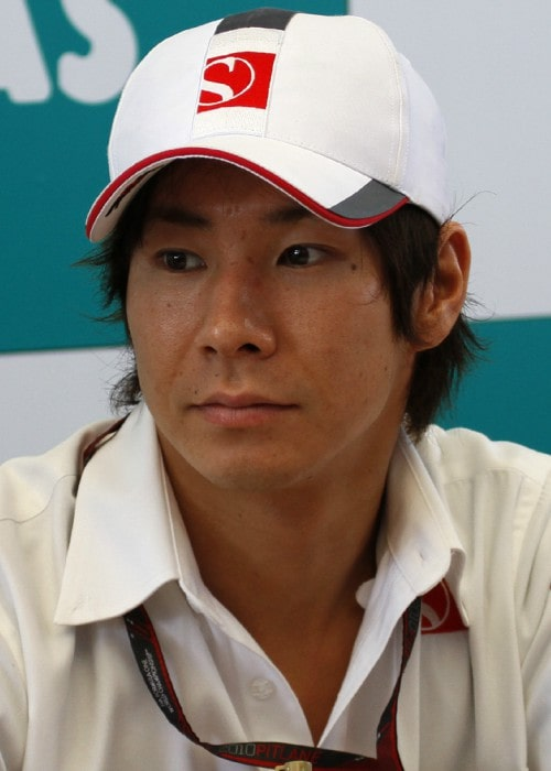 Kamui Kobayashi as seen in April 2010