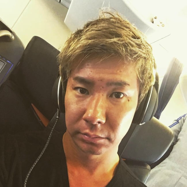 Kamui Kobayashi in an Instagram selfie as seen in May 2017